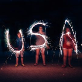 Editing: Sparkler Photos